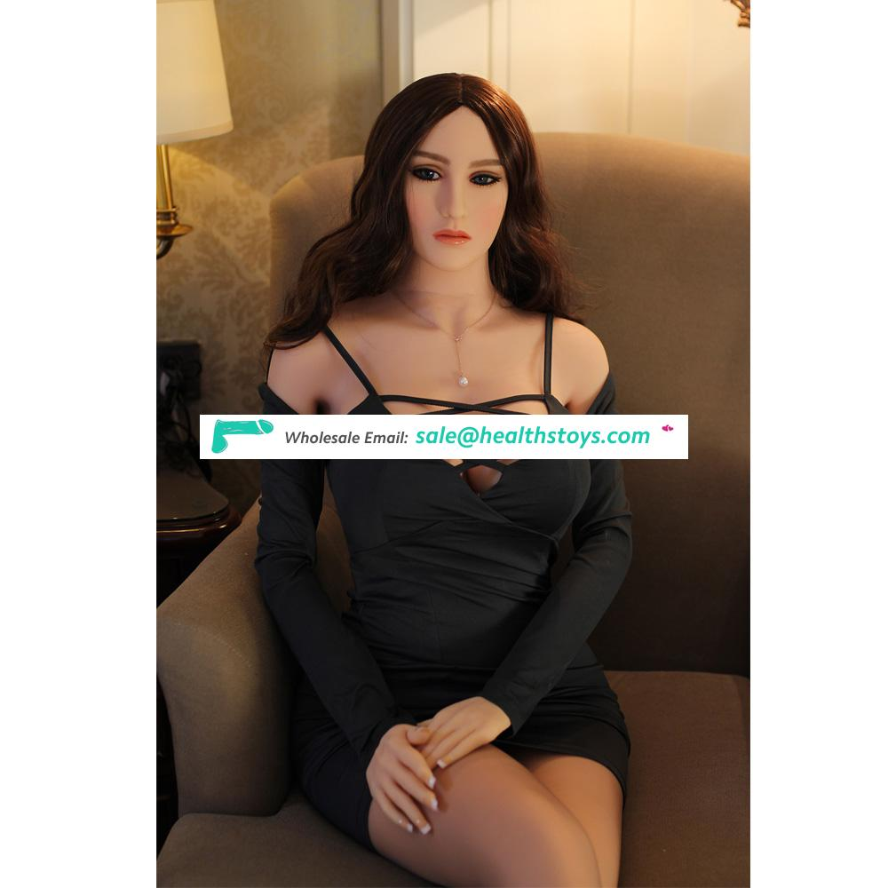 158cm Real Silicone Dolls Robot European Realistic Doll Big Breast Love Doll Oral Vagina Adult Toys For Men