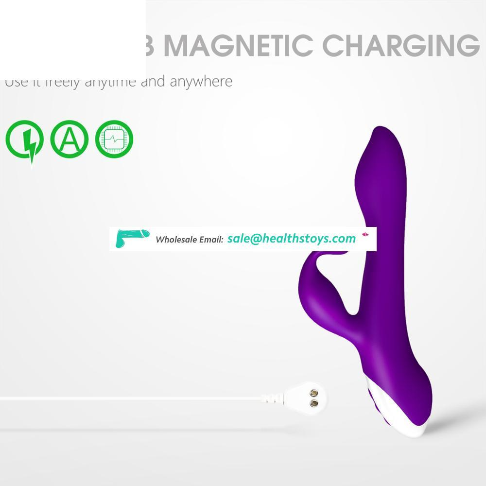 Amazon Hot Selling 10 Speed Silicone Vibrator Sex Toys for Women