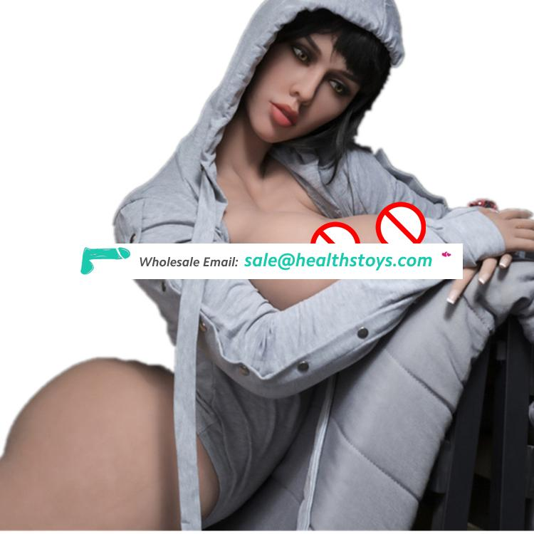 Chinese Factory Tpe Medical Silicone Real Huge  Breast Love Doll Miniature Soft Touch Russian