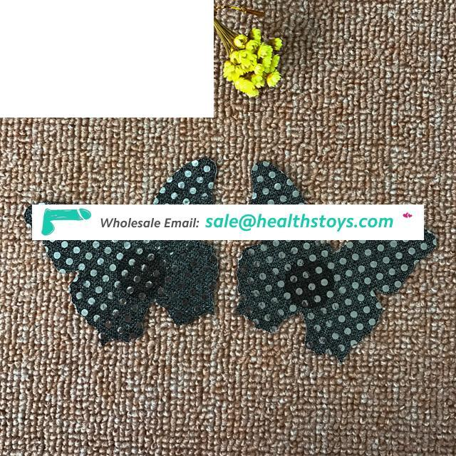Fashionable Disposable Butterfly Nipple Covers Adhesive Pasties For Women