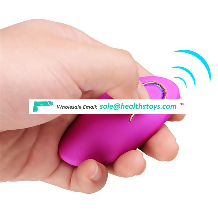 G Spot Waterproof Speeds Portable USB Rechargeable Wireless Remote Control Vibrator For Female