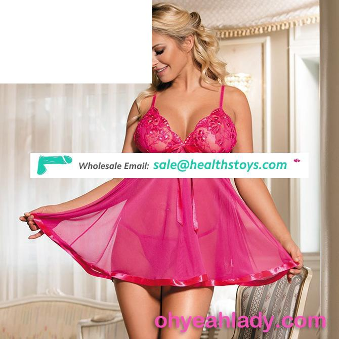 New Style Sexy Nighty Erotic Babydoll Lingerie for Woman