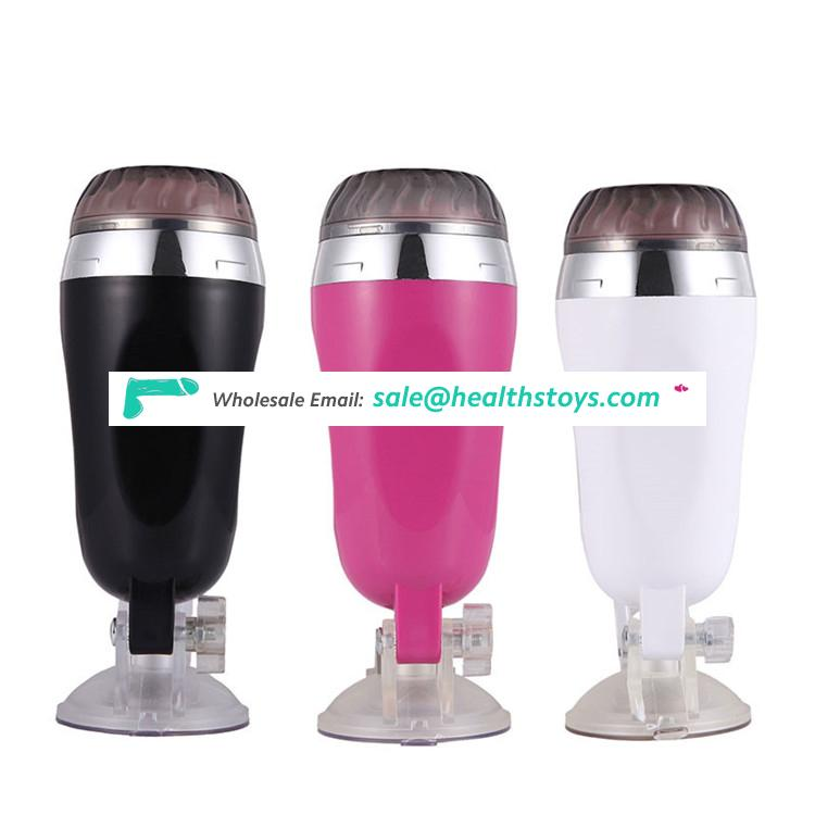 OEM Homemade Male Masturbation Aircraft Cup with Vagina Suction Cup