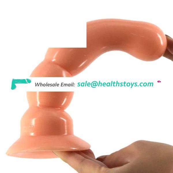 CHGD017 solid color butt plug healthy material dildo toy beads adult game sex products for men women faak anal toy