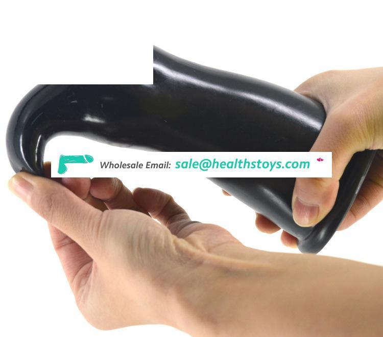 FAAK 024 unisex Rubber Penis Novelty Big Plug Anal Erotic Products Anal Sex For Men Masturbation Women Pussy and Anal