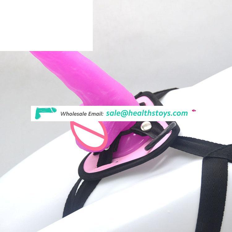 FAAK 19cm male sex toy mini penis with belt sex toy for man Strapon dildo penis with belt sex toys for lesbian strap-on