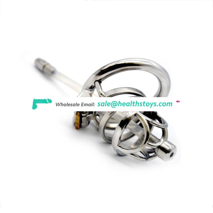 FAAK 40/45/50 mm metal Padlock CB6000 chastity device BDSM bondage Penis Lock Cock Cage sex toys metal cock cage for fight cock