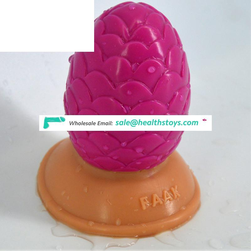 FAAK sex shop 9.5cm big butt plug for ass pussy and anal juguetes sexuales silicone material women sex toys anal