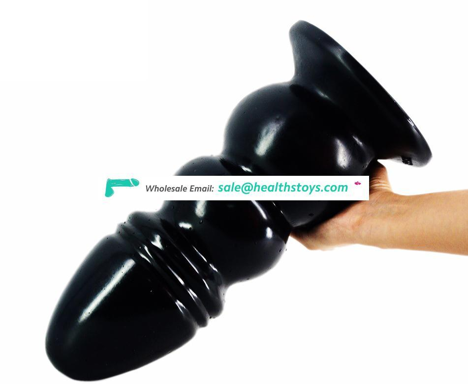 """FAAK017 14.2"""" Huge and thick Tower model Giant G-spot Dildo High simulation high pleasure for Women's Pussy and Anal"""