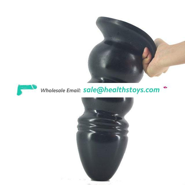 FAAK17 Super huge and thick butt plug dildo Tower model giant anal plug High simulation high pleasure toys adult sex shop faak