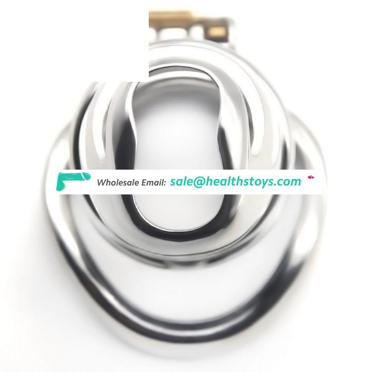 Original FRRK 14A Chastity Device Cock Cage Stainless Steel Metal Cage Penis Enlargement Prison Cage Sex toys