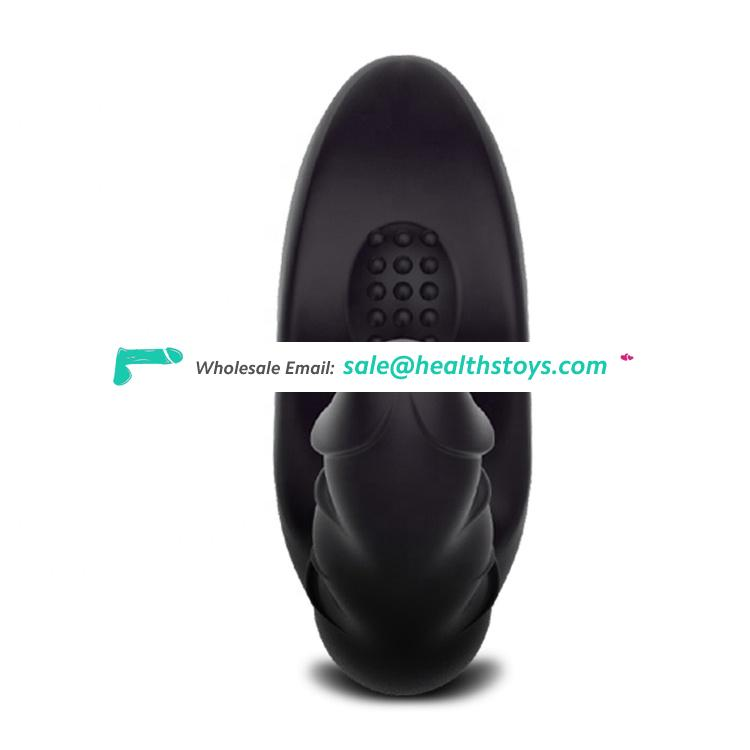 Silicone Adults Erotic Male Anal Vibrator Butt Plug Sex Toys Anal for Men Stimulator