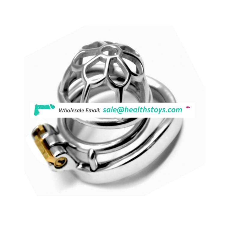 Stainless Steel Spiral Penis cage Male Chastity Device Cock Cage metal Chastity Belt Sex Toys easy to build cock cage for men