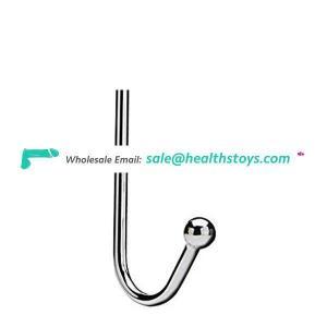 1 Ball Metal Anal Bondage Hook, Stainless Steel Beads Stimulation Hook
