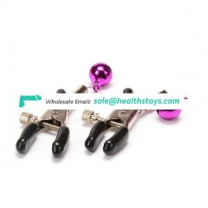 1 Pair Stainless Breast Clips Flirting Teasing Toys Nipple Massage
