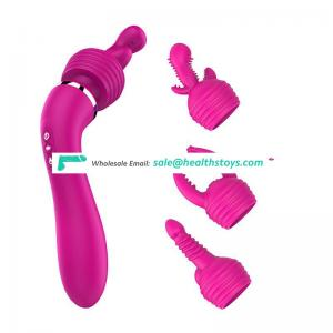 10 speeds pink vibrator magic Wand massager