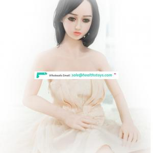 138 CM Adult Plastic Sex Doll With Night Dress For Sex Artificial Pussy For Male Masturbator