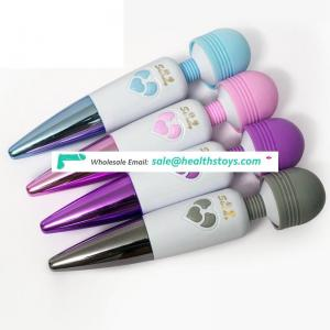 16 Speeds 4 Modes Rechargeable G Spot Vibrator  AV Magic Wand Vibrator Women Handheld Body Massager  sex toys adult products