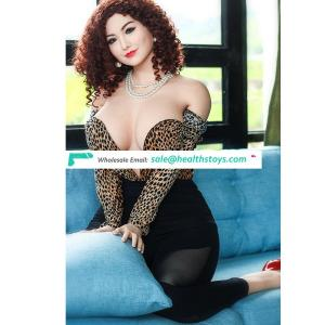 162cm 58kg life size fat silicone sex doll