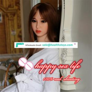 162cm Cheap Young Japanese Sexy Beautiful Girl Doll Lifelike Big Breast Hairy Vagina Full Body Sex Toy Rubber Doll For Men