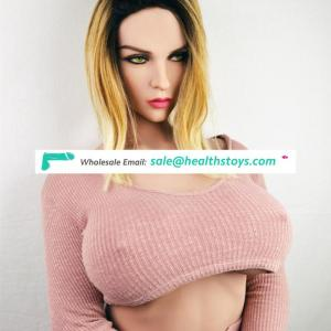 163cm (5.35ft) Adult Sex Doll Big Boom Huge Ass Lifelike Love Dolls Silicone  TPE Toy For Men