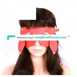 2 in 1 Set Erotic Toys For Blindfold Eye Mask With Rivets Adult Games