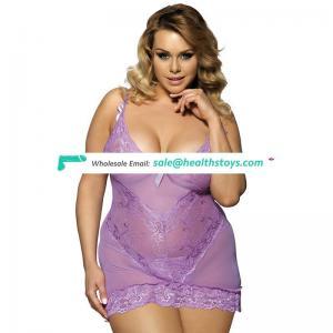 2016 Latest sexy nightwear sexy mature plus size lingerie