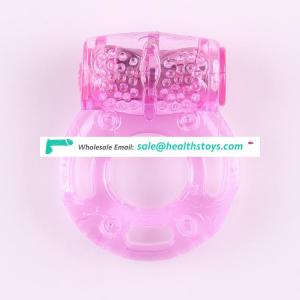 2017 Factory Price Butterfly Delay Ejaculation Weighted Rubber Horseshoe Free Sample Cock Ring