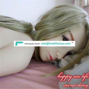 2018 Newest hot sale 138cm japanese cheapest real silicone sex doll for masturbation MEN