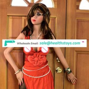 2018 Newest hot sale 160cm full size lifelike silicone porno adult sex doll for men