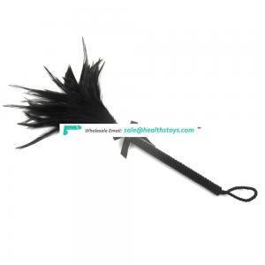 2018 Wholesale New Feather Tickler Bondage Fancy Dress Up Whip Spanking G Aid Toy For Couple