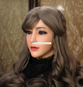 2019 Disguise Masquerade For Man Feminine Silicone  Realistic Goddess Face For Halloween Crossdresser  Event & Party Supplies