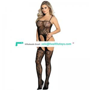 4 Color Wholesale Full Body Sex Fishnet Black Mature Bodystocking