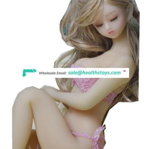 65cm Silicone Full Size Love Real Sex Doll With Skeleton Japanese Adults Vagina Real Pussy Sex Toys for Man