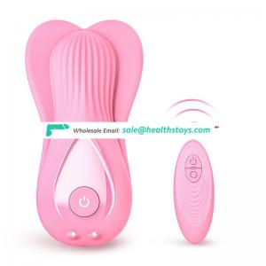 7 Frequencies Strap On Dildo Clitoral Sucking Rechargeable Vibrator