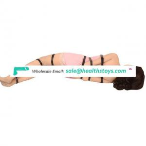 7PCS/set Bed Bondage Strap Restraint Leather Discipline Adult Toys Salve Flirting Products For Couple