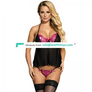 Accept ODM Hot Selling Factory Price Plus Size Black Lingerie