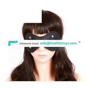 Adjustable Leather Blindfold Adult Games Flirt Toy Eye Mask Sleeping