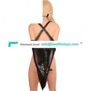 Adult Game Bondage Arm Binder Fetish Single Glove Over Shoulder Triangle Arm Tightened Body Restrain Tool For Couple