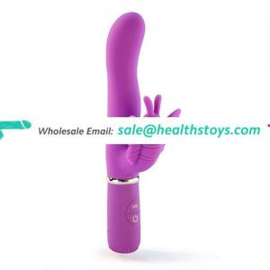 Adult Masturbation Waterproof Remote Control Wireless Dual Action Butterfly Vibrator For Women