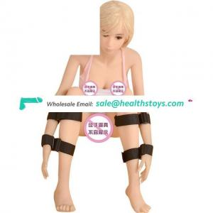 Adult Product Hand Cuffs Slave Fetish Bondage Restraints Wrist & Ankle Handcuffs Adult Toys Ribbon Harness For Couples