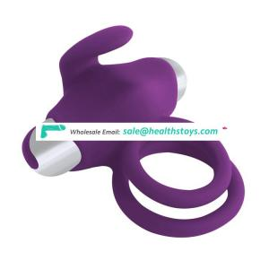 Adult Sex Toys Custom Delay Ejaculatio Cock Ring With Clitoris Licking Stimulator Bullet Cock And Ball Ring For Male