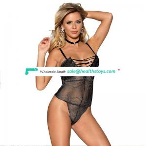 Adult bodysuit set good quality see through bodysuit