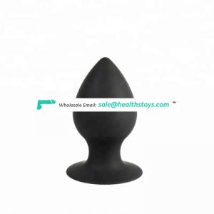 Beginner silicone plug adult products anal sex toys