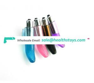 Best Seller Silicone Finger Sleeve Vibrator Bullet Electric Shock Factory Cheap Price Sex Toys For Female