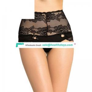 Black Sexy High Waist Transparent Lace Cute Girls Preteen Panty