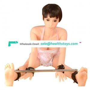 Bondage Restraints Fetish Under Bed Restraint System With Adjustable Wrist and Ankle Cuffs Bondage Pipe For Male Bondage