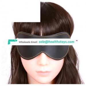Bondage Toys Pu Leather Eyes Cover For Blindfold Games