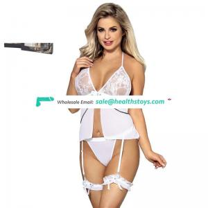 Box Package Wholesale White Girls Night Sexy Hot Wear Lingerie