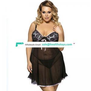 Bulk lingerie wholesale for hot sexy girls xxxl babydoll nightgowns